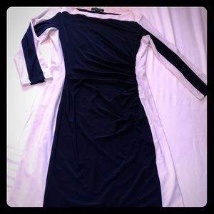 👗 Lauren by Ralph Lauren stretch lined dress